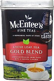 McEntee's Irish Loose Leaf Gold Blend Tea - 500 g blik - vakkundig gemengd in Ierland om die perfecte kop thee te geven.