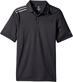 adidas Golf Kids - 3 Stripe Polo (Big Kids)