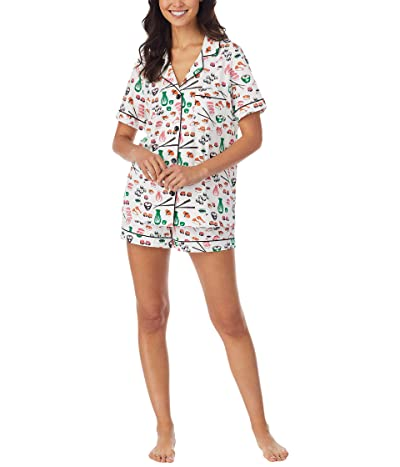 BedHead Pajamas Short Sleeve Classic Shorty PJ Set