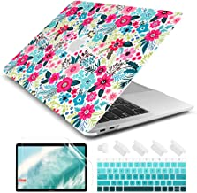 Dongke MacBook Air 13 Inch Case 2019 2018 Release A1932, Matte Frosted Clear Hard Shell Cover for MacBook Air 13