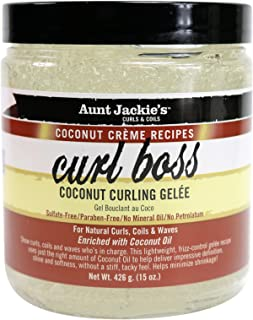 Aunt Jackie's Flaxseed Collection Coconut Creme Curl Boss