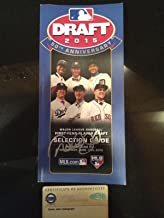 50th Anniversary 2105 Draft Book Signed By Derek Jeter-1/1 Auth-1992 - Steiner Sports Certified - Autographed MLB Magazines