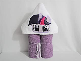 Purple Pony Hooded Bath Towel - Baby, Child, Tween