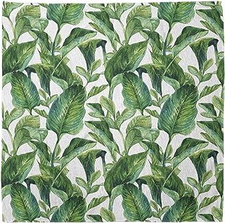 Vintage Plumerias on Leaves Ivory and Multicolor Ambesonne Necktie 3.7