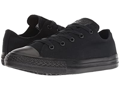 Converse Kids Chuck Taylor(r) All Star(r) Core Ox (Little Kid) (Black Monochrome) Kids Shoes