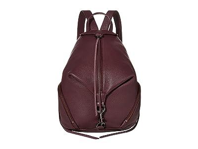 Rebecca Minkoff Julian Backpack (Currant) Backpack Bags