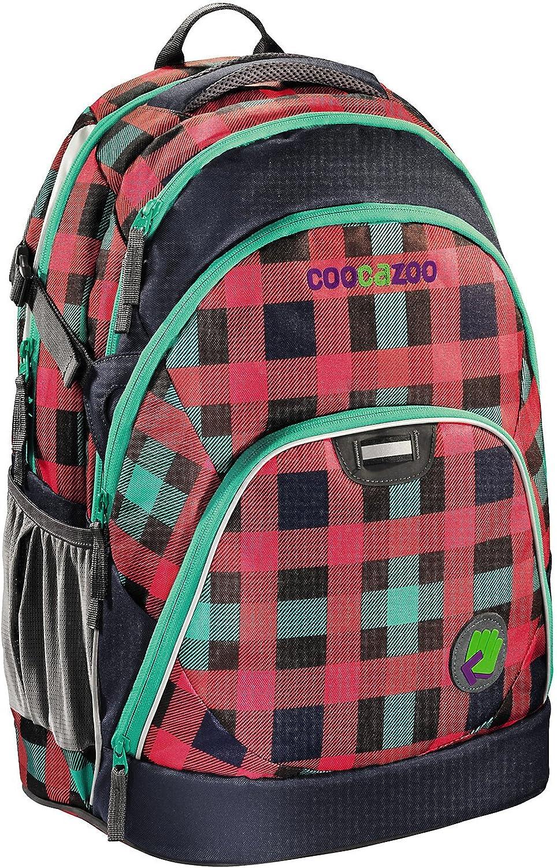 Coocazoo City and School EvverClevver Rucksack mit mit mit Laptopfach 47 cm checky mint B00BVJKPBS  Nicht so teuer d1c870