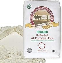100% Organic All Purpose Unbleached White Baking Flour - 10 Pound