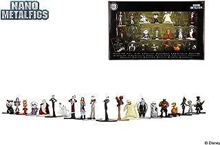 Jada Nano Metalfigs 30122 Disney Nightmare Before Christmas Wave 1 Metals Die-Cast Collectible Figures, 1.65