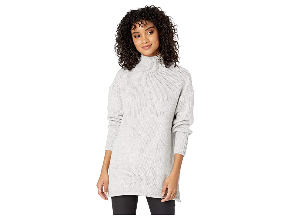 Sanctuary Supersized Curl Up Sweater (Heather Sterling) Women