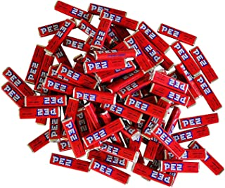Pez Candy Single Flavor 2 Lb Bulk Bag (Cherry) Red Candy