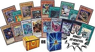 Yugioh 100 Card Lot - Bonus 20 Yugioh Foils! - Yugioh Cards TCG Deck Box - Rise of The Duelist Legendary Collection Kaiba ...