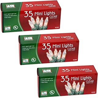 Noma/Inliten 35-Count Clear Christmas Light Set 3 Pack