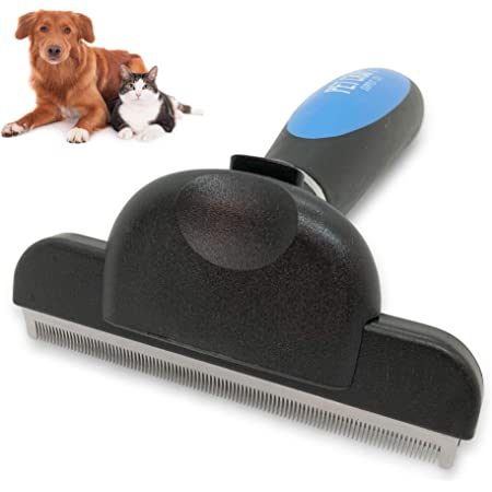 Pet Craft Supply Self-Cleaning Dog Brush Deshedding Brush for Dog Grooming Cat Supplies Great on Shedding Dogs and Cat Brush