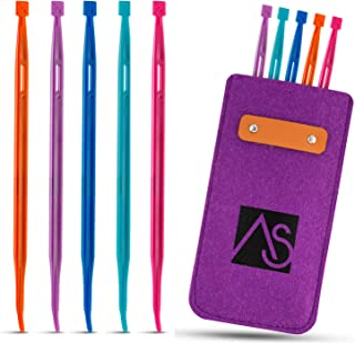 That Purple Thang Multifunctional Sewing Accessories for Sewing Craft Projects 5 Colors with Felt case