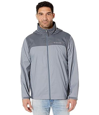 Columbia Glennaker Laketm Rain Jacket (Grey Ash/Graphite) Men