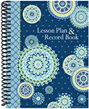 Eureka Blue Harmony Back to School Classroom Supplies Record and Lesson Plan Book for..