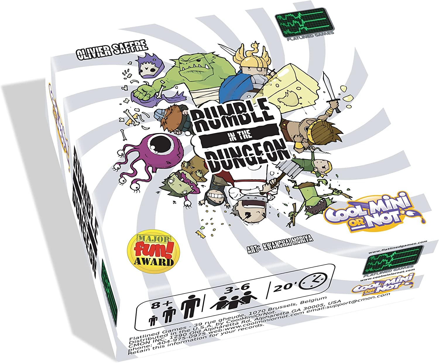 Rumble in The Dungeon Board Game
