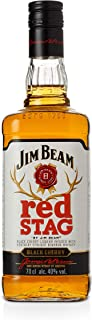 Jim Beam Red Stag Black Cherry - Bourbon Whiskey mit Schwarzkirsch-Likör, mit weichem und rundem Geschmack, 40% Vol, 1 x 0,7l