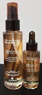 Alterna Bamboo Kendi Dry Oil Mist 4.2 Oz And ALTERNA BAMBOO Smooth Pure Kendi Oil Pure Treatment Oil, 1.7 fl oz