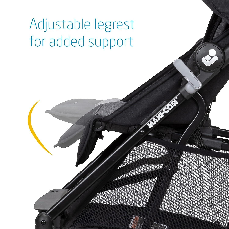 Maxi-Cosi Mara XT Ultra Compact Stroller, Essential Black