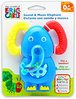 World of Eric Carle, The Very Hungry Caterpillar Elephant Music and Sound Teether