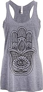 Spiritual Hamsa Hand Yoga Loose Fit Muscle Tee Tank Top