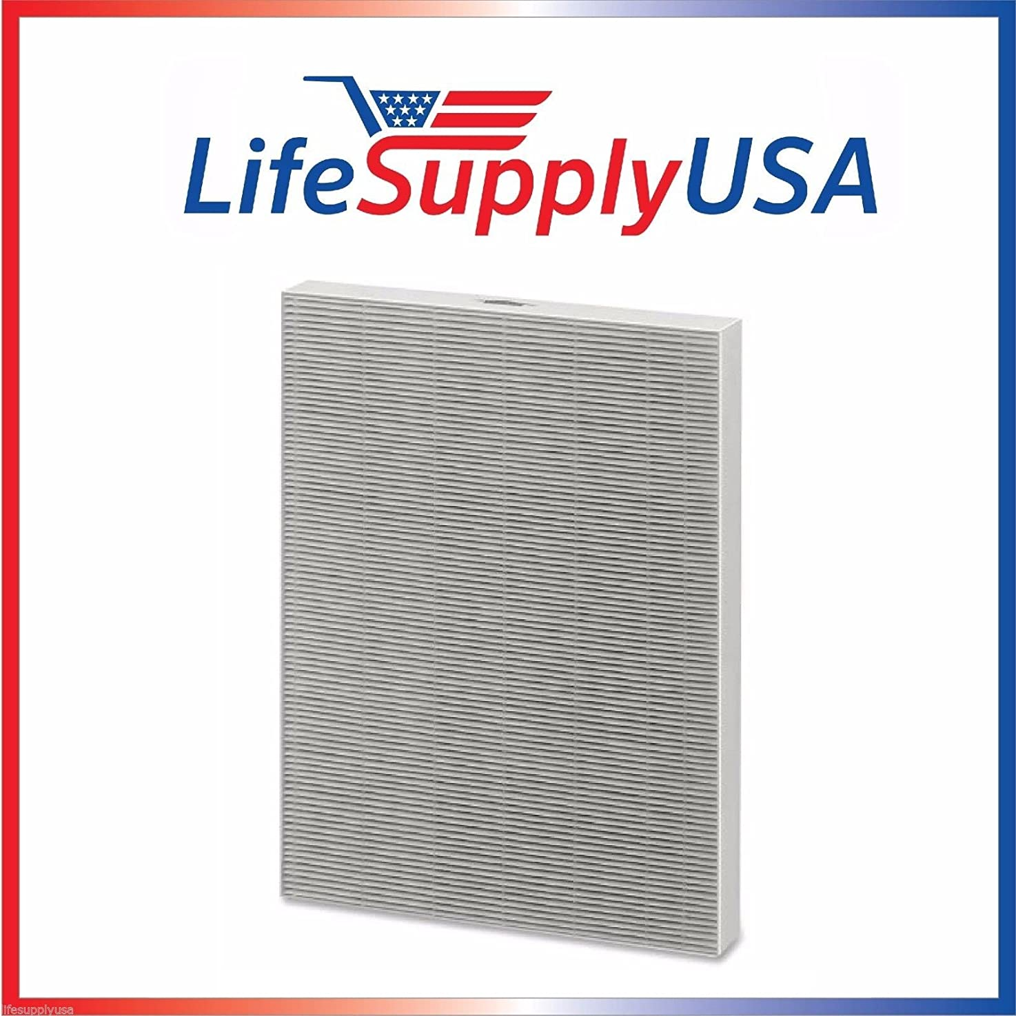 LifeSupplyUSA 1 HEPA Air Purifier Filter for Winix 115115 / PlasmaWave, Size 21