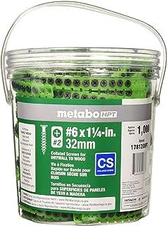 Metabo HPT 17812BHPT #6 x 1-1/4-in Bugle Coarse Thread Drywall Screws (1000-Count)