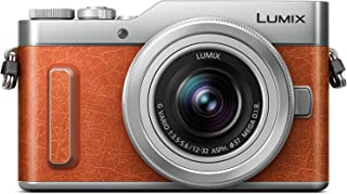 Panasonic LUMIX DC-GX880KGND 4K Micro Four Thirds Camera, Orange. Includes: LUMIX G Vario 12-32mm / F3.5-5.6 ASPH. / MEGA ...
