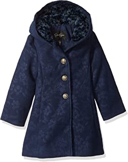 Girls' Dress Coat Jacket with Cozy Collar