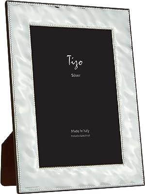 Amazon.com: Wedgwood White Folia 5 x 7 marco: Home & Kitchen