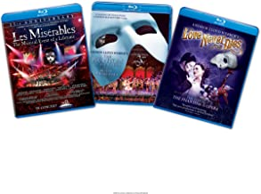Musical 3 Pack: (Les Miserables / The Phantom of the Opera / Andrew Lloyd Webber's Love Never Dies)