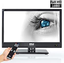 Pyle 15.6-Inch 1080p LED TV | Ultra HD TV | LED Hi Res Widescreen Monitor with HDMI Cable..