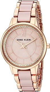 Anne Klein Women's Premium Crystal Accented Ceramic Bracelet Watch
