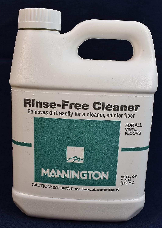 Mannington Rinse-Free Cleaner 32oz for Vinyl Floors : Health & Household