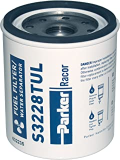 Racor 320R-Rac Series Gasoline Fuel Filter (Outboard or Inboard)