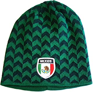 Mexico Embroidered Beanie Cap Winter Hat