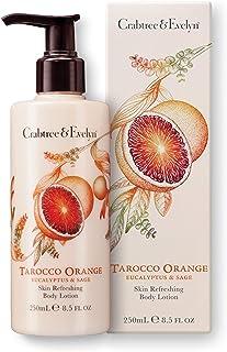 Crabtree & Evelyn Skin Refreshing Body Lotion, Tarocco Orange, Eucalyptus and Sage, 8.5 Fl Oz