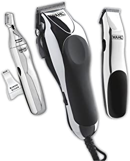 Wahl Clipper Home Barber Kit with Electric Clipper, Touch Up Trimmer & Personal Groomer – 30 Piece Kit for Professional Style Haircutting at Home – Model 79524-3001