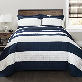 Best navy blue and white bedding sets Reviews