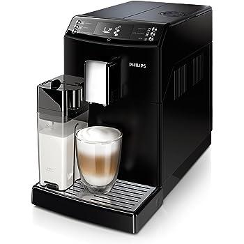 Philips 3100 series EP3551/00 - Cafetera (Independiente, Máquina espresso, 1,8 L, Granos de café, De café molido, Molinillo integrado, Negro): Amazon.es: Hogar