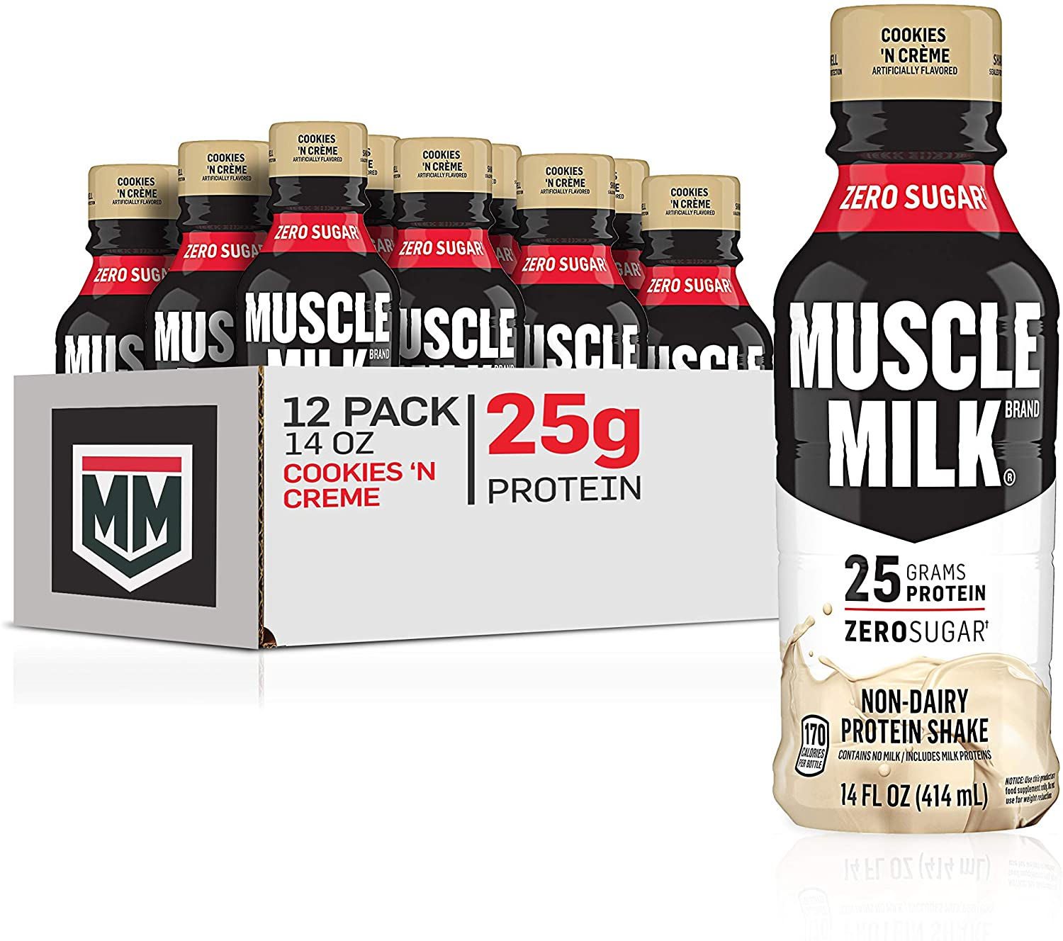 Muscle famous Milk Genuine Popular popular Protein Shake 25g Prot 'N Cookies Crème
