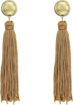 SHASHI - Sidney Tassel Linear Earrings