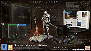 Dark Souls Trilogy Limited Collectors Edition W/ Elite Knight Statue (PC)
