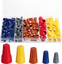 Bates- Wire Nuts Assortment, 150 pc, Wire Nuts, Electrical Wire Connectors, Twist Wire Connectors, Electrical Wire Caps, W...