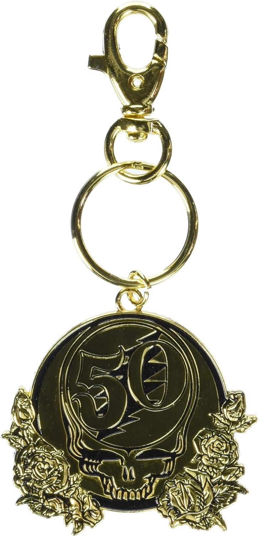 C&D Visionary K-2800-E Grateful Dead 50th Anniversary Metal Keychain