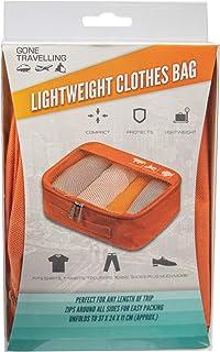 Gone Travelling Lekka torba do przechowywania ubrań z zamkiem błyskawicznym do prania, zakupów i podróży bagaż podręczny, ...