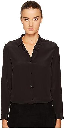 The Kooples - Boyfriend Shirt in Plain Silk