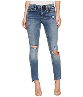 Crop Distress Skinny Classique in Shot Not